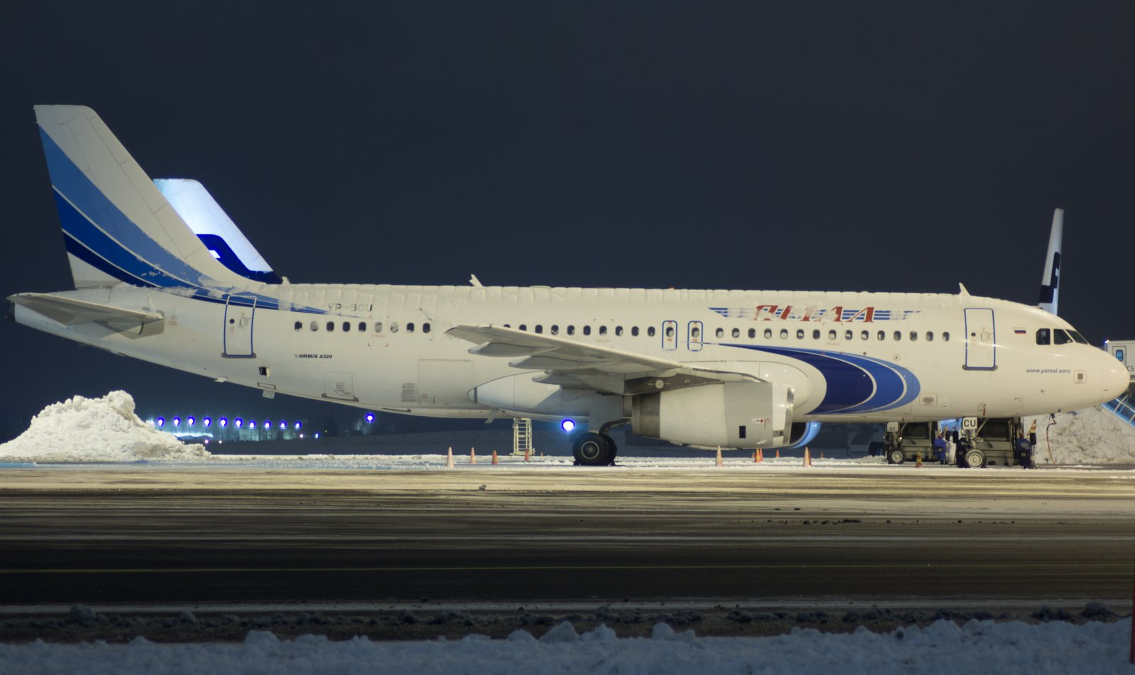 Yamal Airlinesin A320-232 VP-BCU