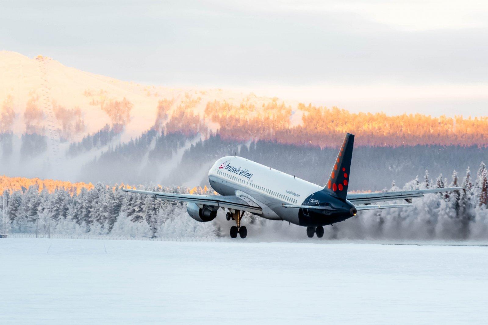 24.1. OO-TCV kohti Tromssaa