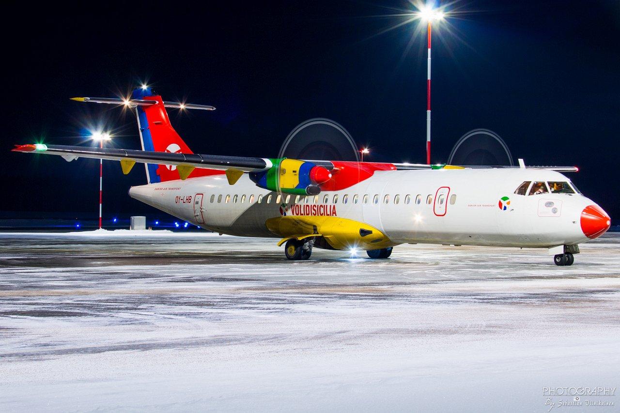 OY-LHB Danish Air Transport ATR 72-200, 18.01.2019