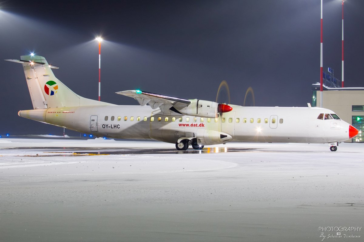 OY-LHC Danish Air Transport ATR 72-212, 29.1.2019
