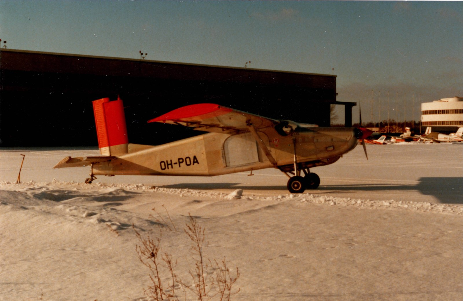 Pilatus PC-6 Porter OH-POA EFHF 1970s