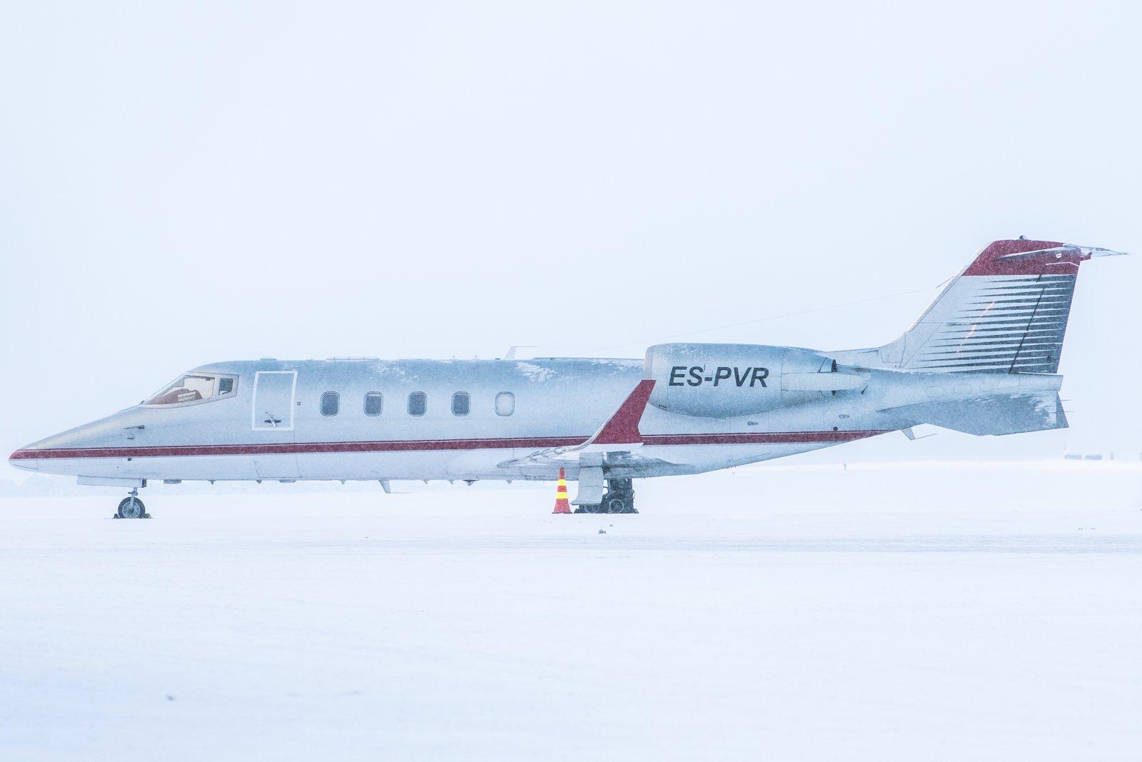 ES-PVR. Learjet 60XR. 7.2.2019