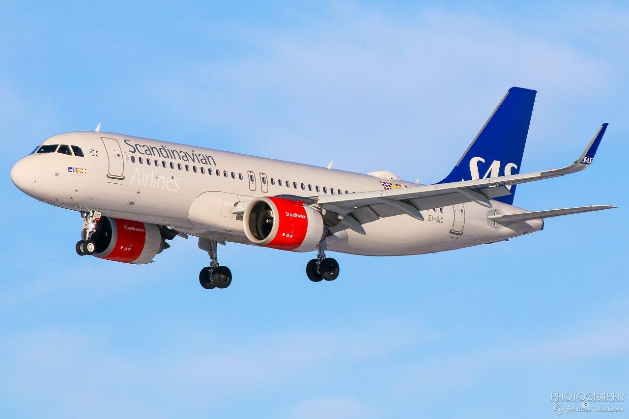 EI-SIC SAS Ireland Airbus A320-200neo, 23.02.2019