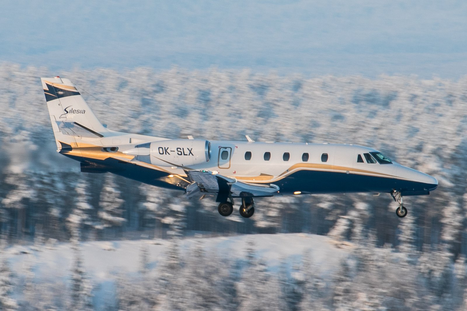 OK-SLX. Cessna Citation 560XL Excel. 4.2.2019