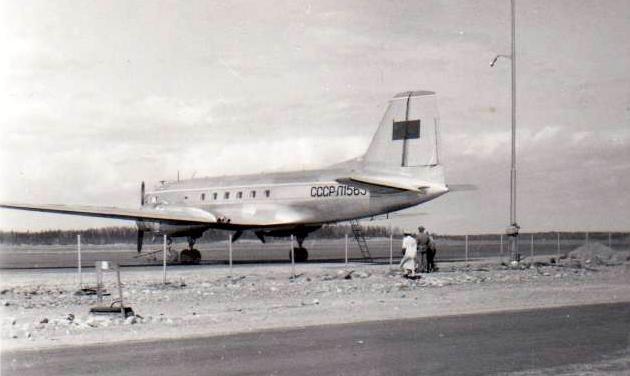 Seutula. Venäläinen kone 11.5.1958. ©Severi Lauronen.jpg