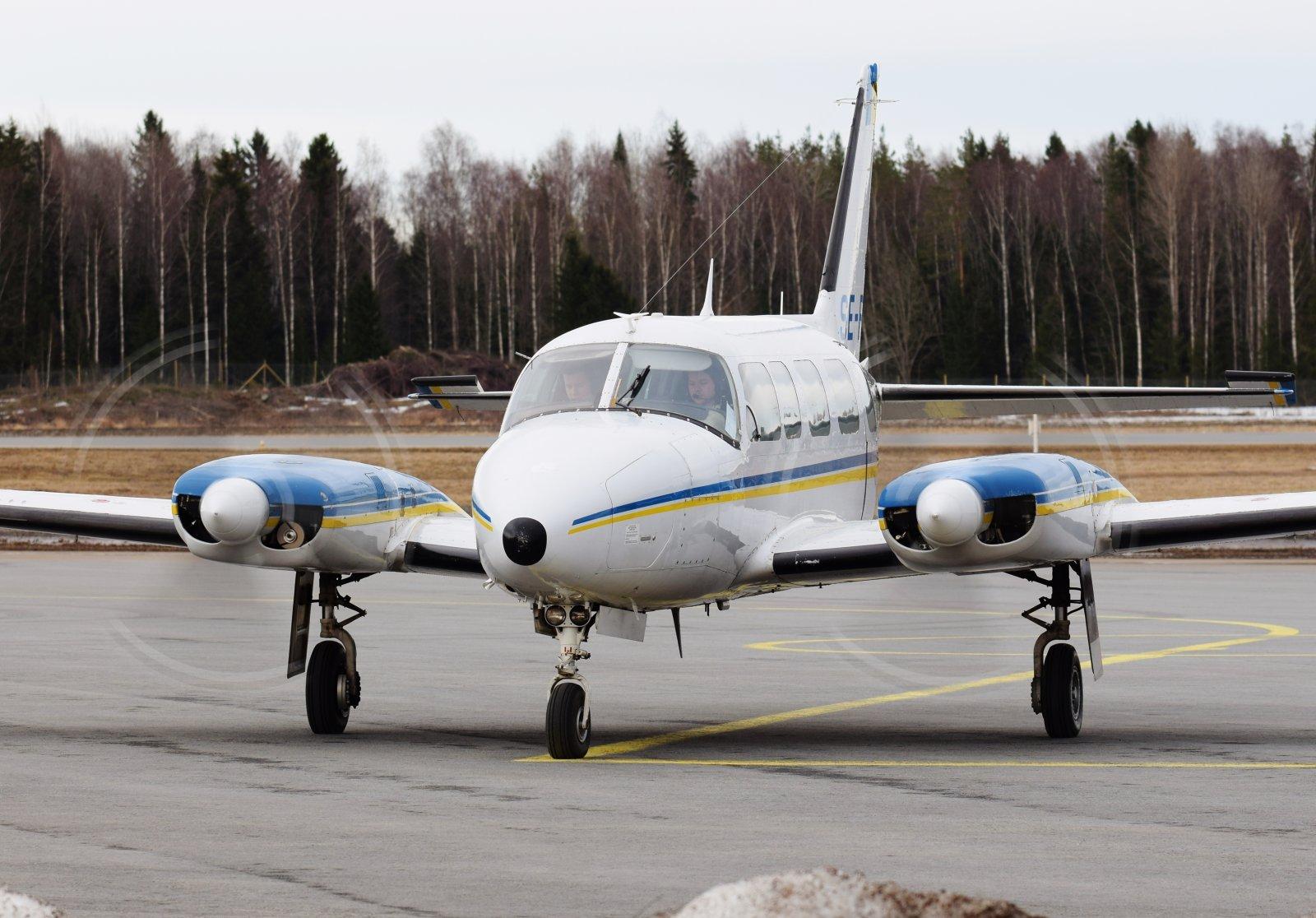 SE-FNE - Piper PA-31-350 Navajo Chieftain - Jonair - 28.3.2019