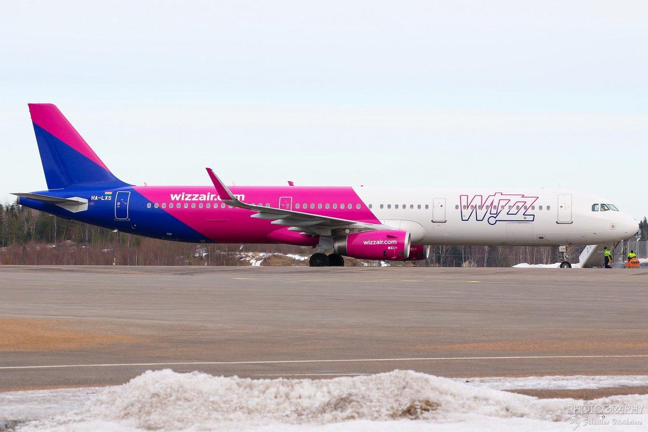 HA-LXS Wizzair A321-200, 03.03.2019