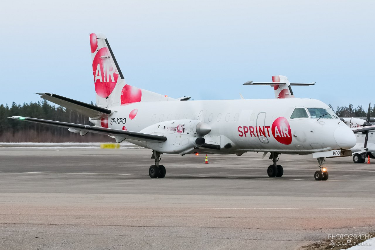 SP-KPO Sprint Air Saab 340A(F), 03.03.2019