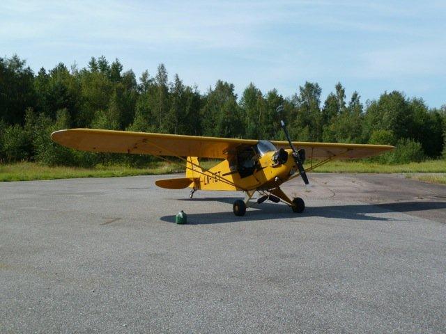 Piper J3C-65 Cub LN-TET EFHN 2014