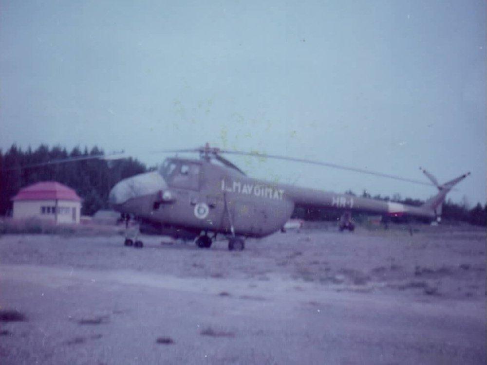Mil Mi-4 HR-1 EFHN 1970s