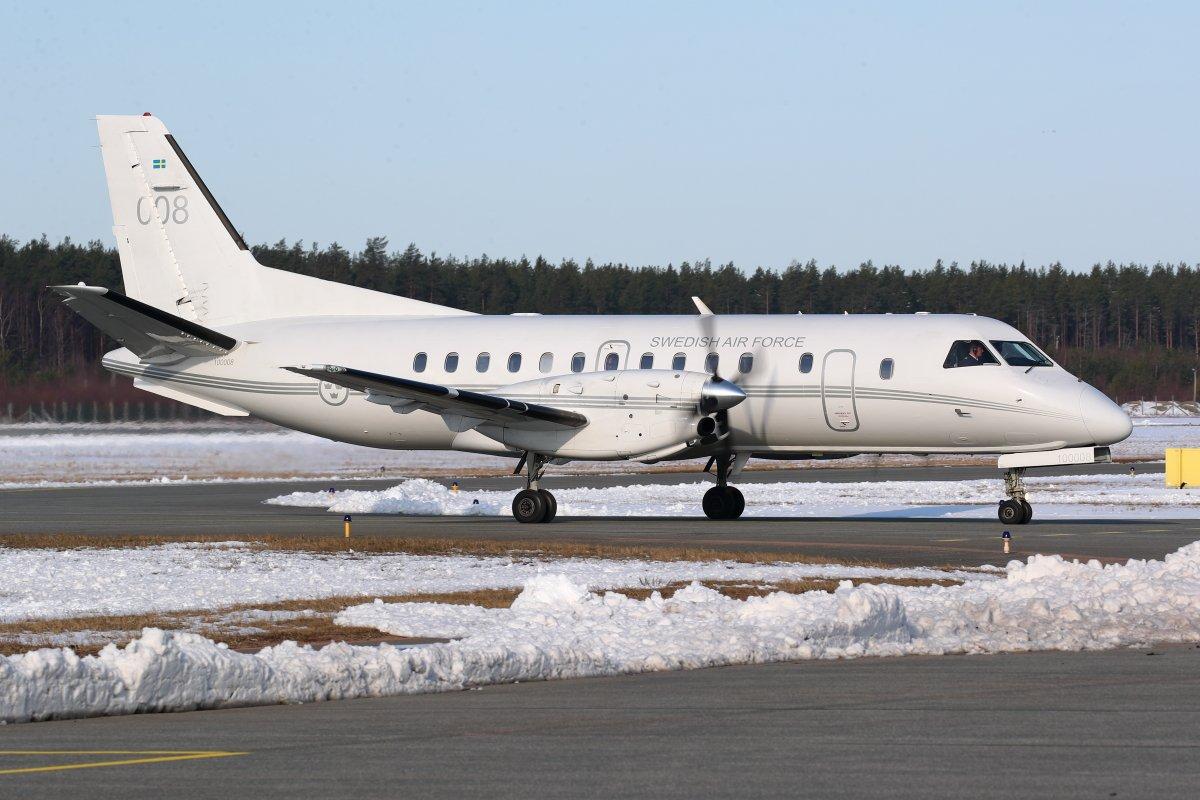 11.4.2019 Ruotsin ilmavoimien Saab Tp100C