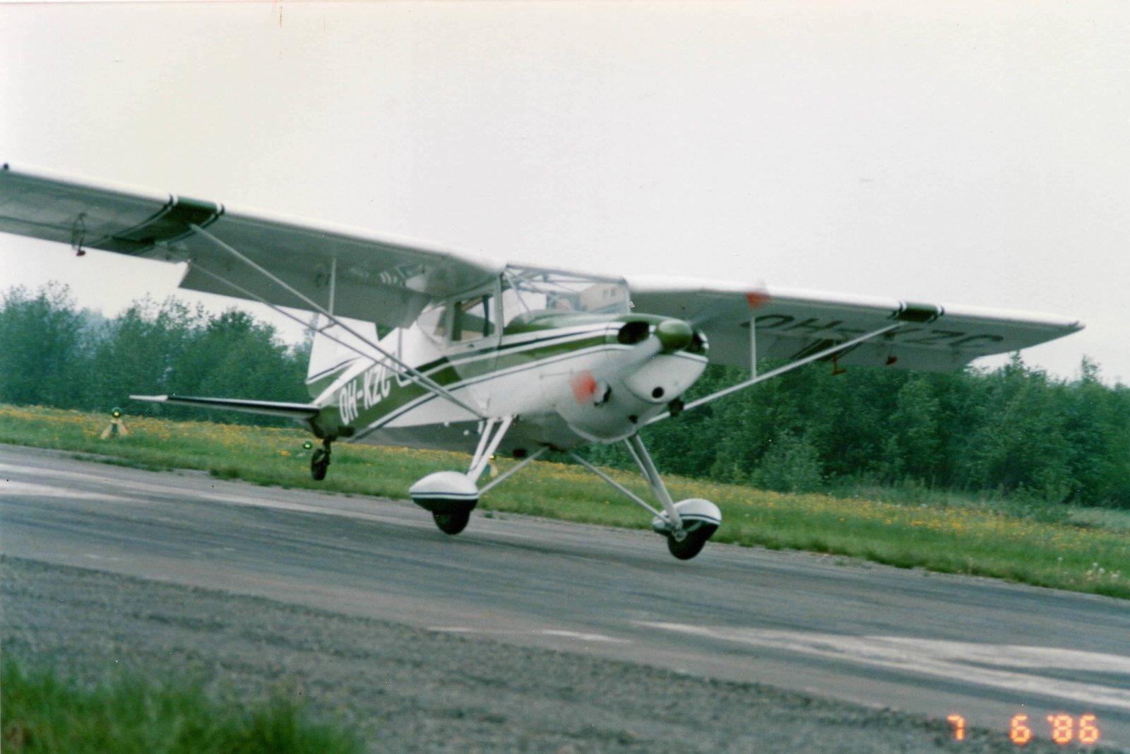 K.A.I. KZ-VII U-5 Laerke EFHN 1987-06-07