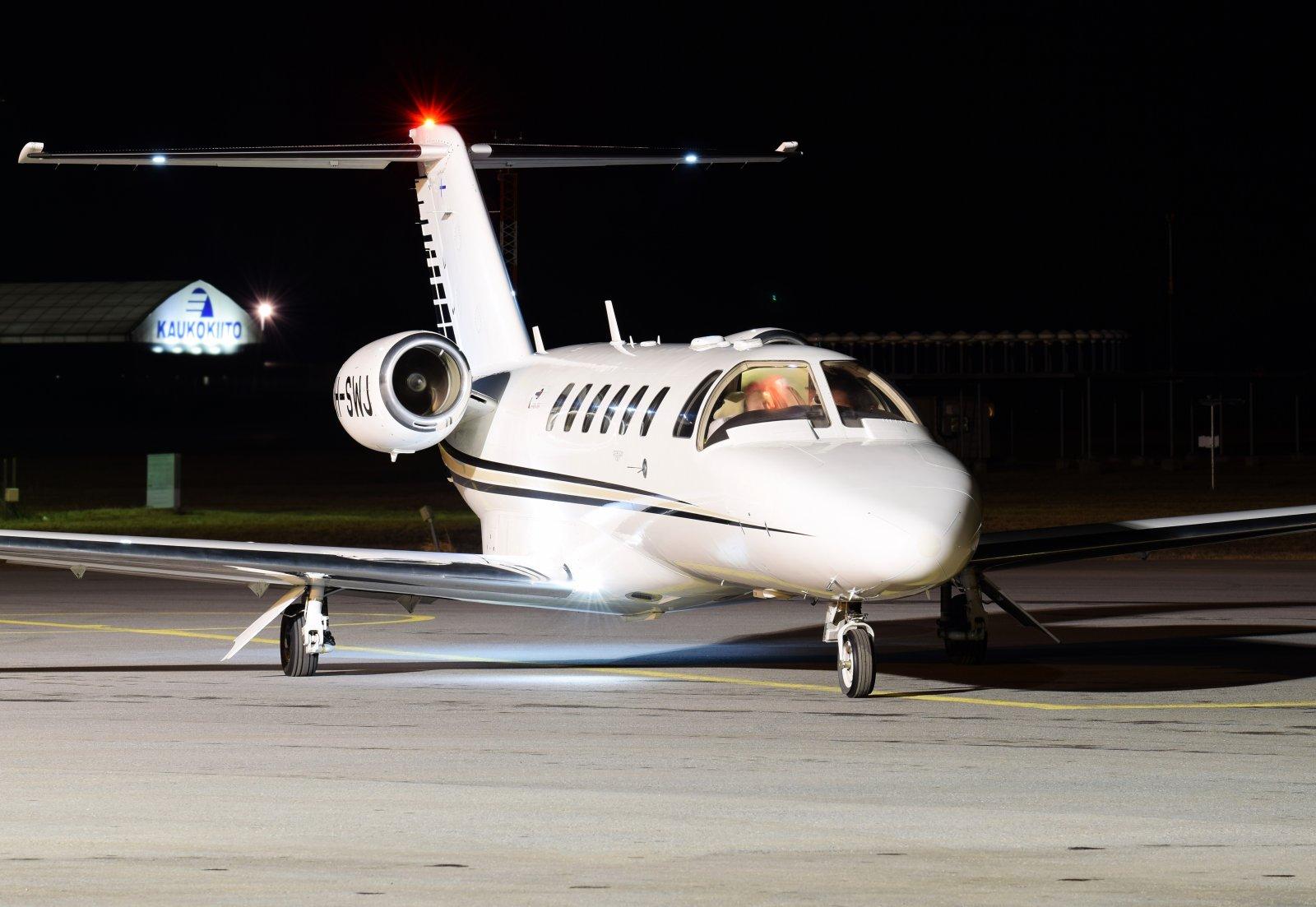 OH-SWJ - Cessna 525A CitationJet CJ2+ - Scanwings - 3.4.2019