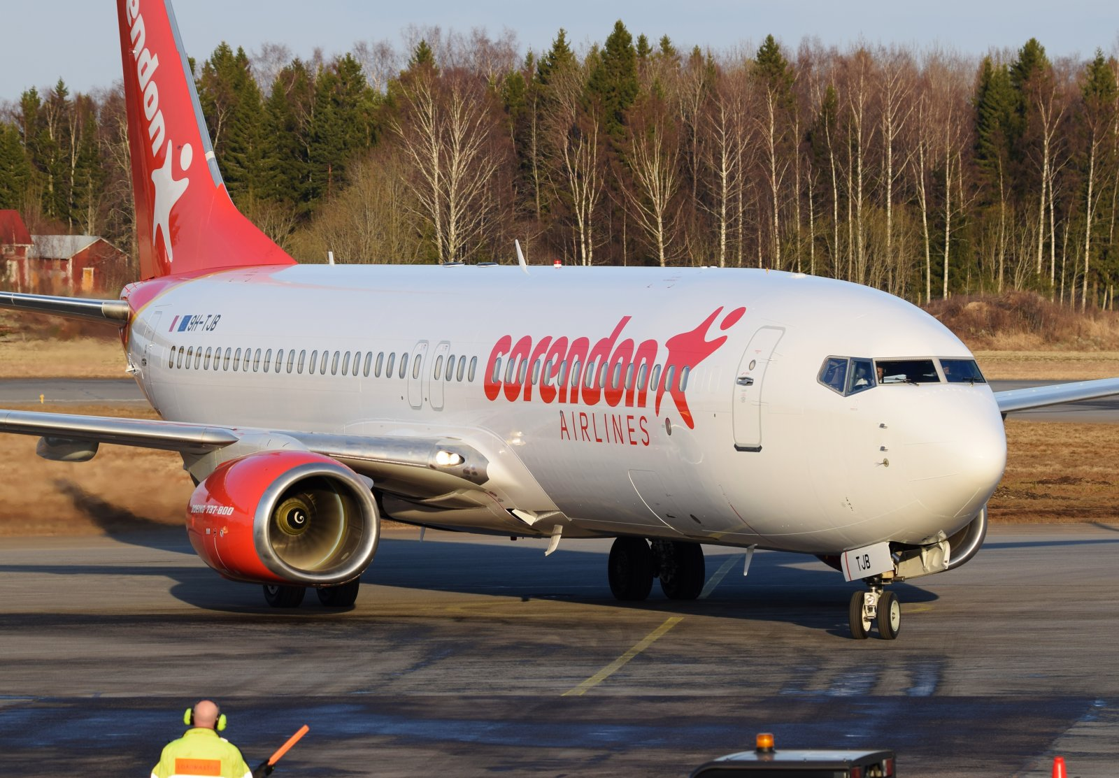 9H-TJB - Boeing 737-8FH - Corendon Airlines Europe - 20.4.2019