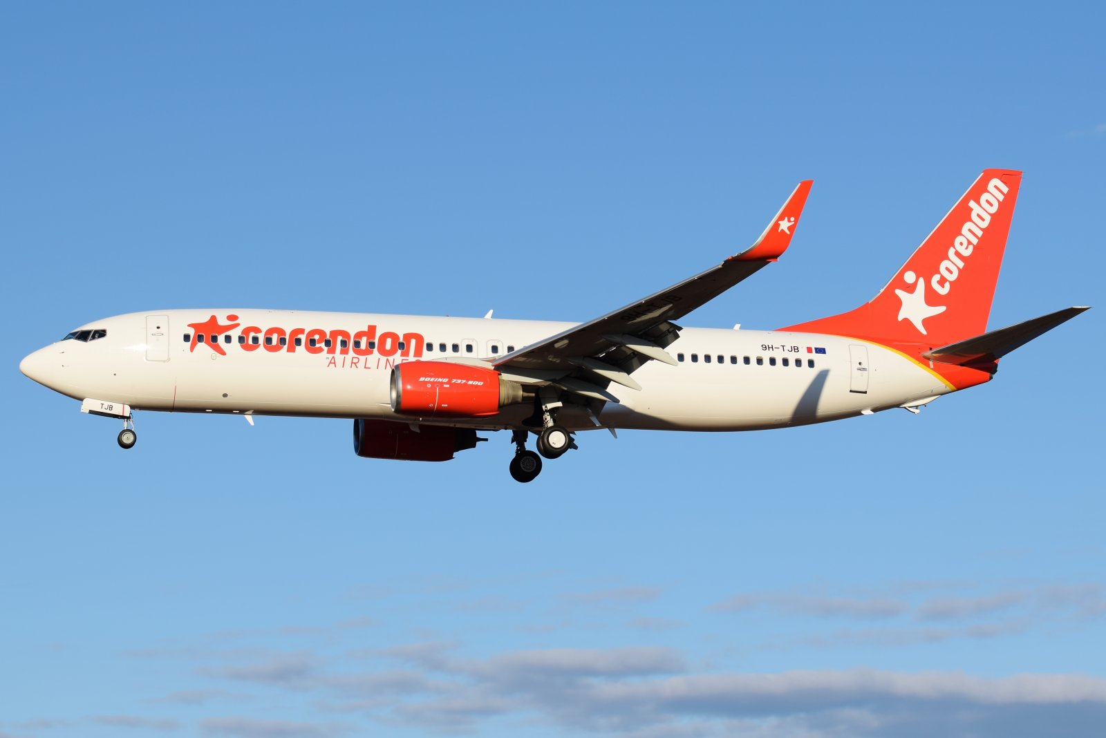 9H-TJB - Boeing 737-8FH - Corendon Airlines Europe - 13.4.2019