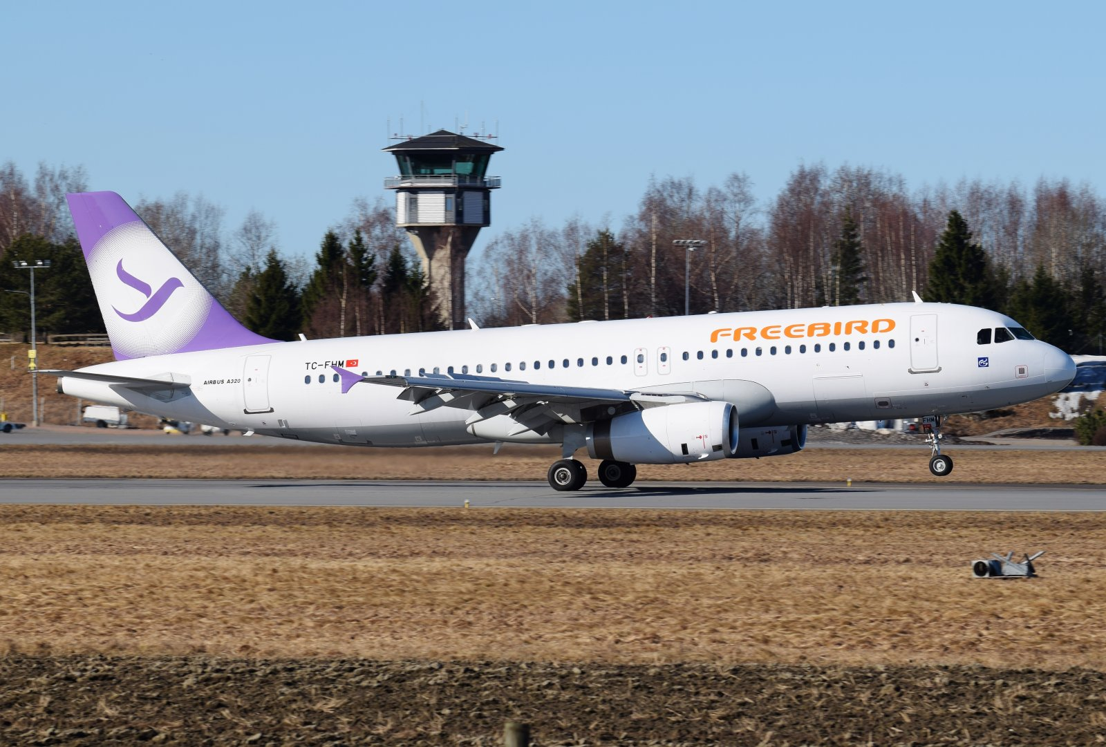 TC-FHM - Airbus A320-232 - Freebird Airlines - 17.4.2019