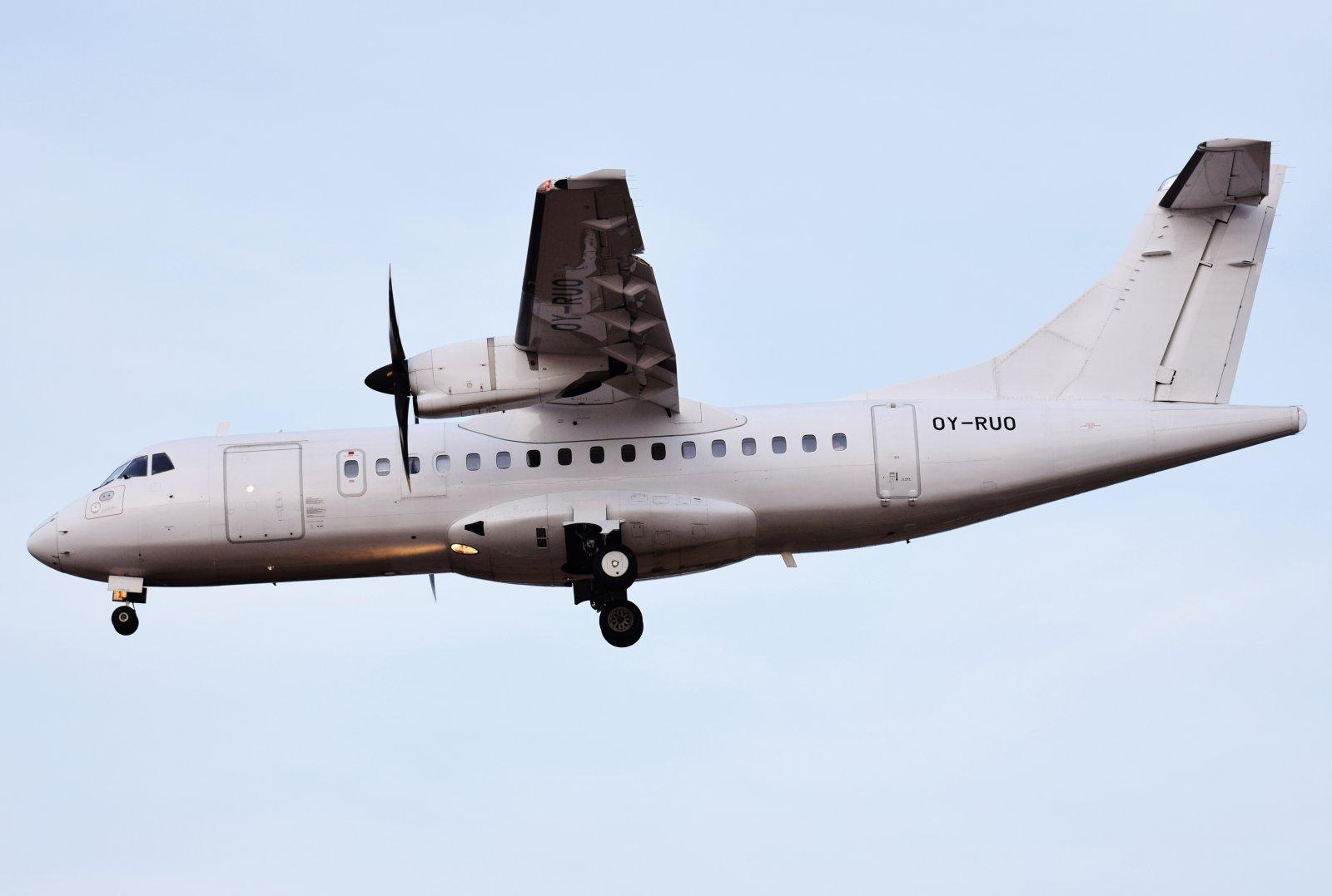 OY-RUO - ATR 42-500 - Danish Air Transport - 18.4.2019