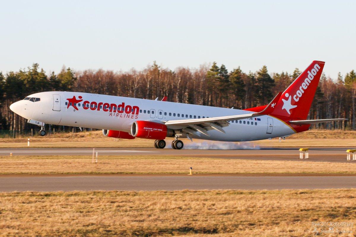 9H-TJB Corendon Airlines EuropeB737-800
