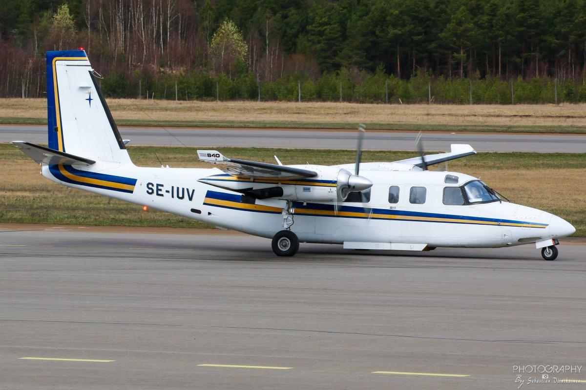 SE-IUV Rockwell 690C Twin Commander Jetprop 840