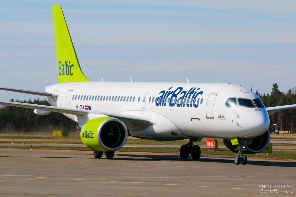 YL-CSM Air Baltic Airbus A220-300