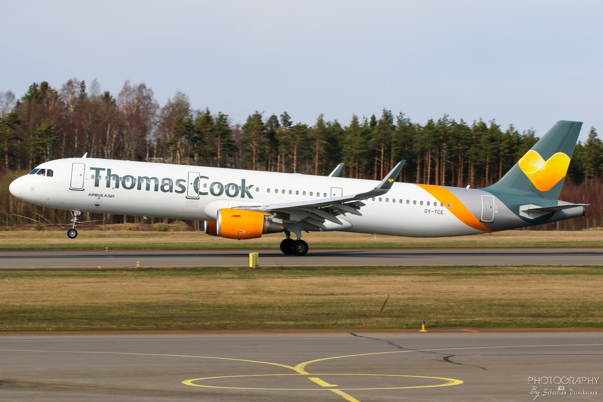 OY-TCE Thomas Cook Airlines Scandinavia A321-200