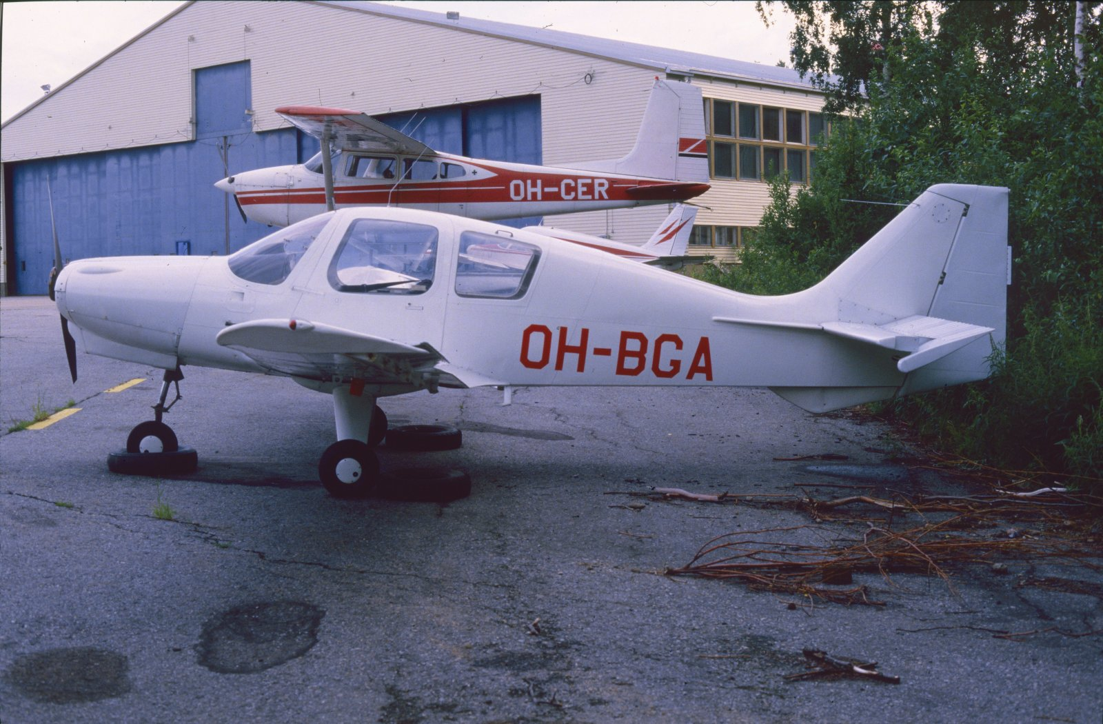 Beagle B.121 Pup Srs.1 OH-BGA EFKU 1984