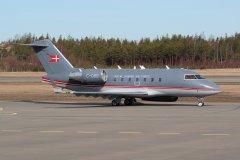 2.4.2019 Tanskan ilmavoimien CL604 Challenger C-080