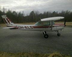 Cessna152 II OH-KLS EFHN 2019-04-13