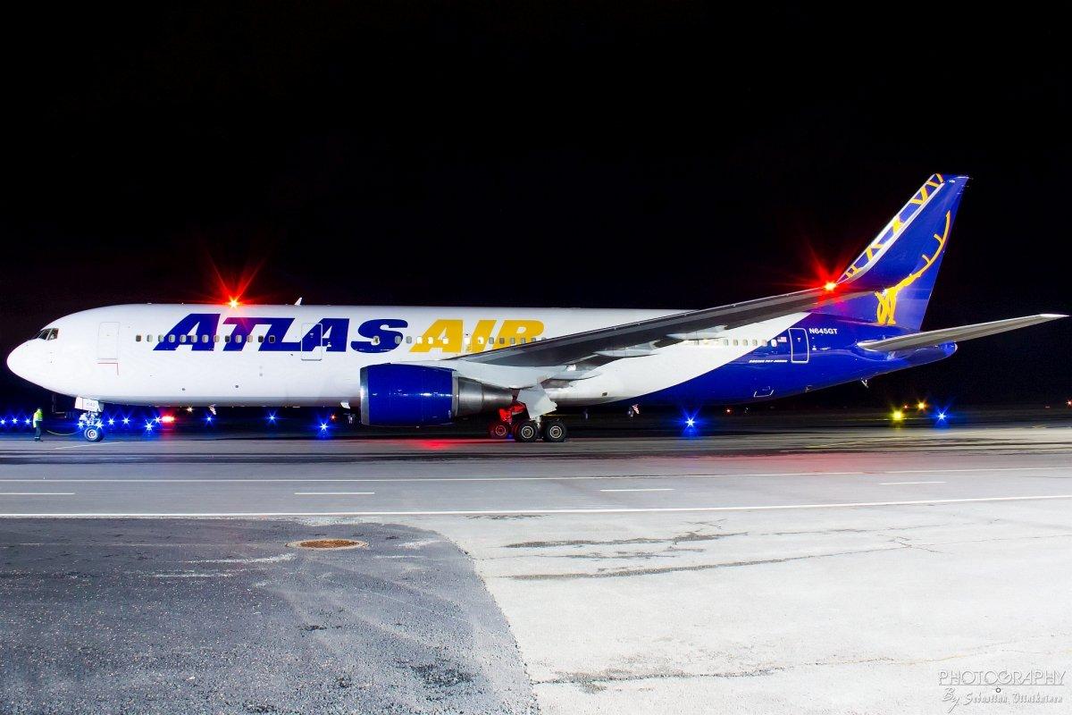 N645GT Atlas Air Boeing B767-300ER, 03.05.2019