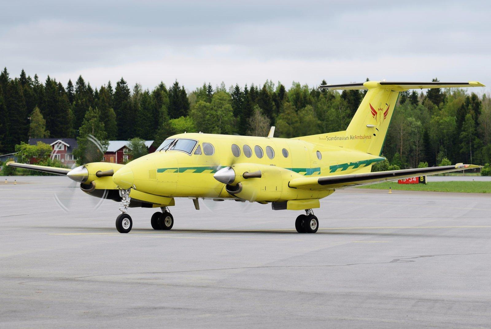 SE-KFP - Beechcraft B200C Super King Air - Scandinavian Air Ambulance (SAA) - 24.5.2019