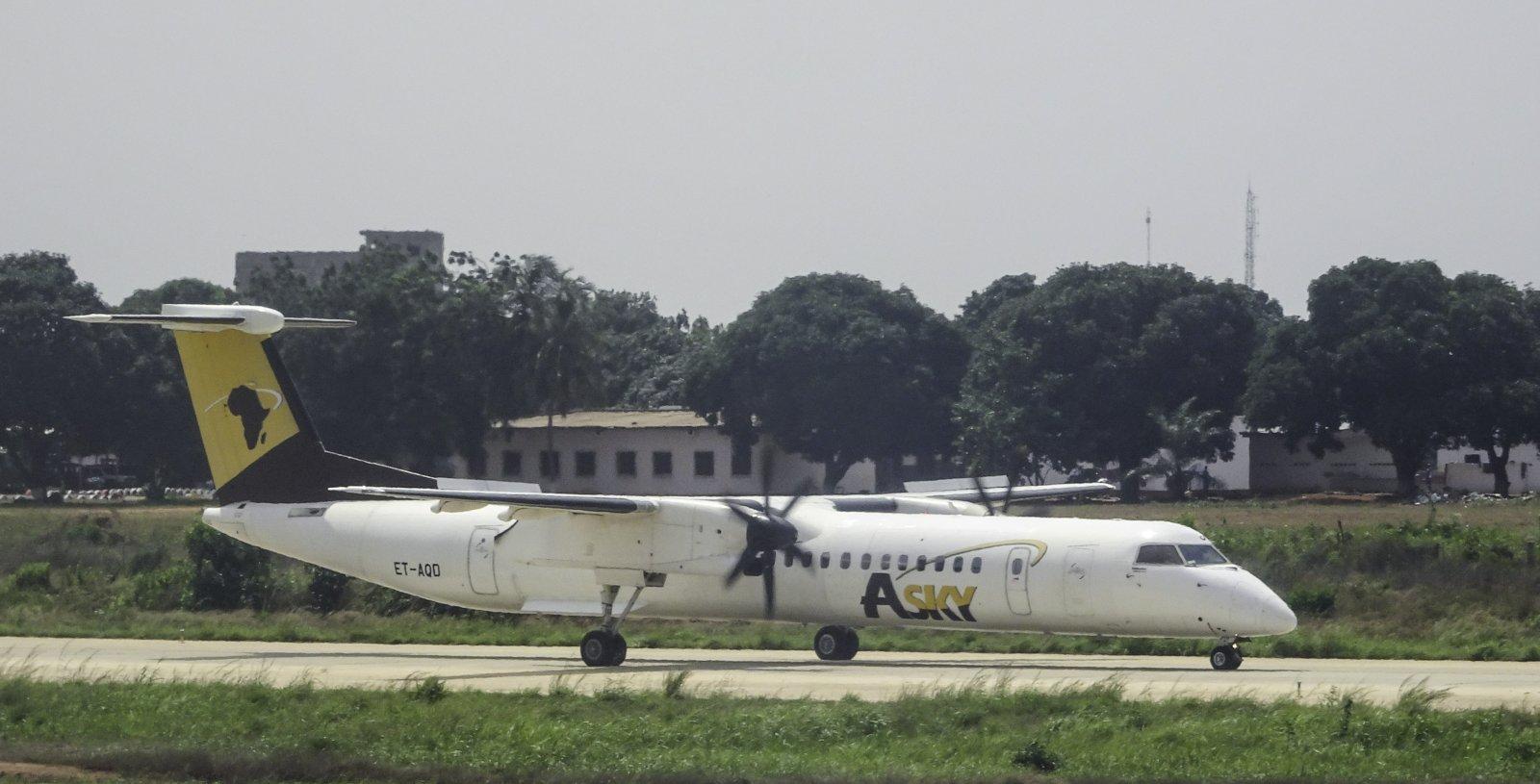 Asky Airlines Dash DHC-8 ET-AQD
