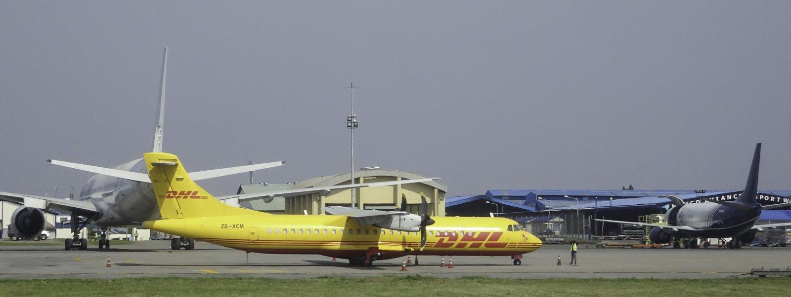 Solenta Aviation / DHL ATR 72-212F ZS-XCM
