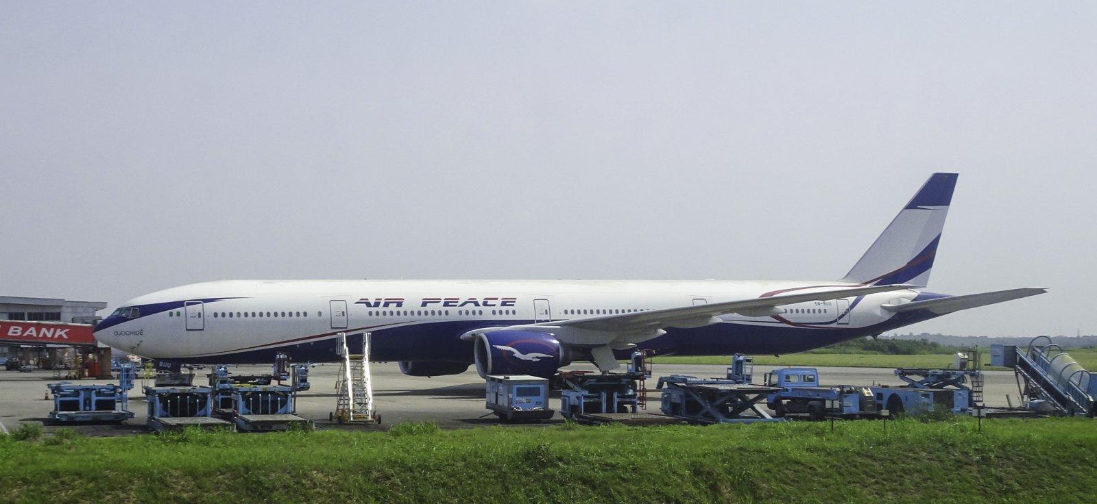 Air Peace Boeing 777-31H 5N-BUU