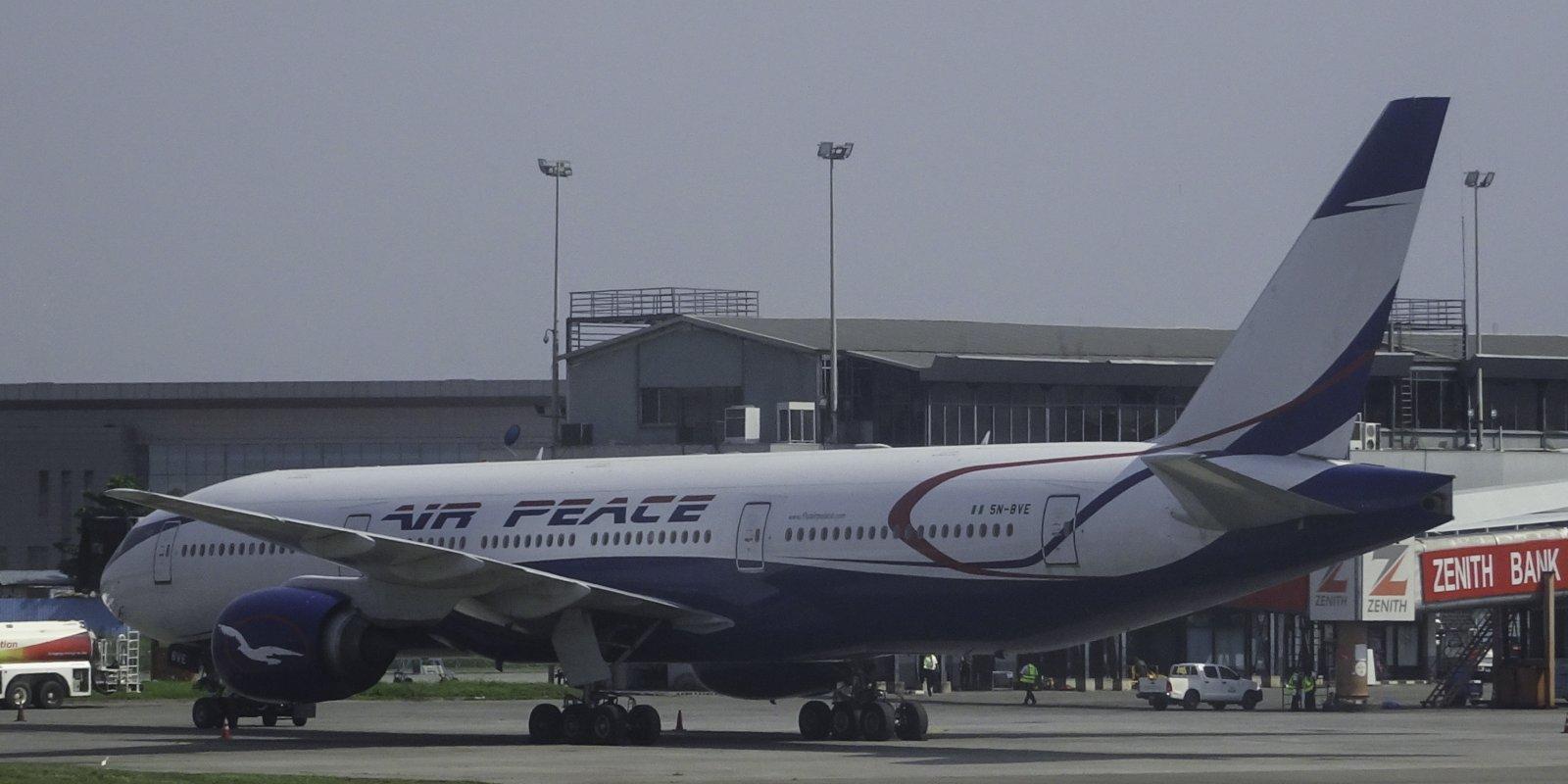 Air Peace Boeing 777-21HER 5N-BVE