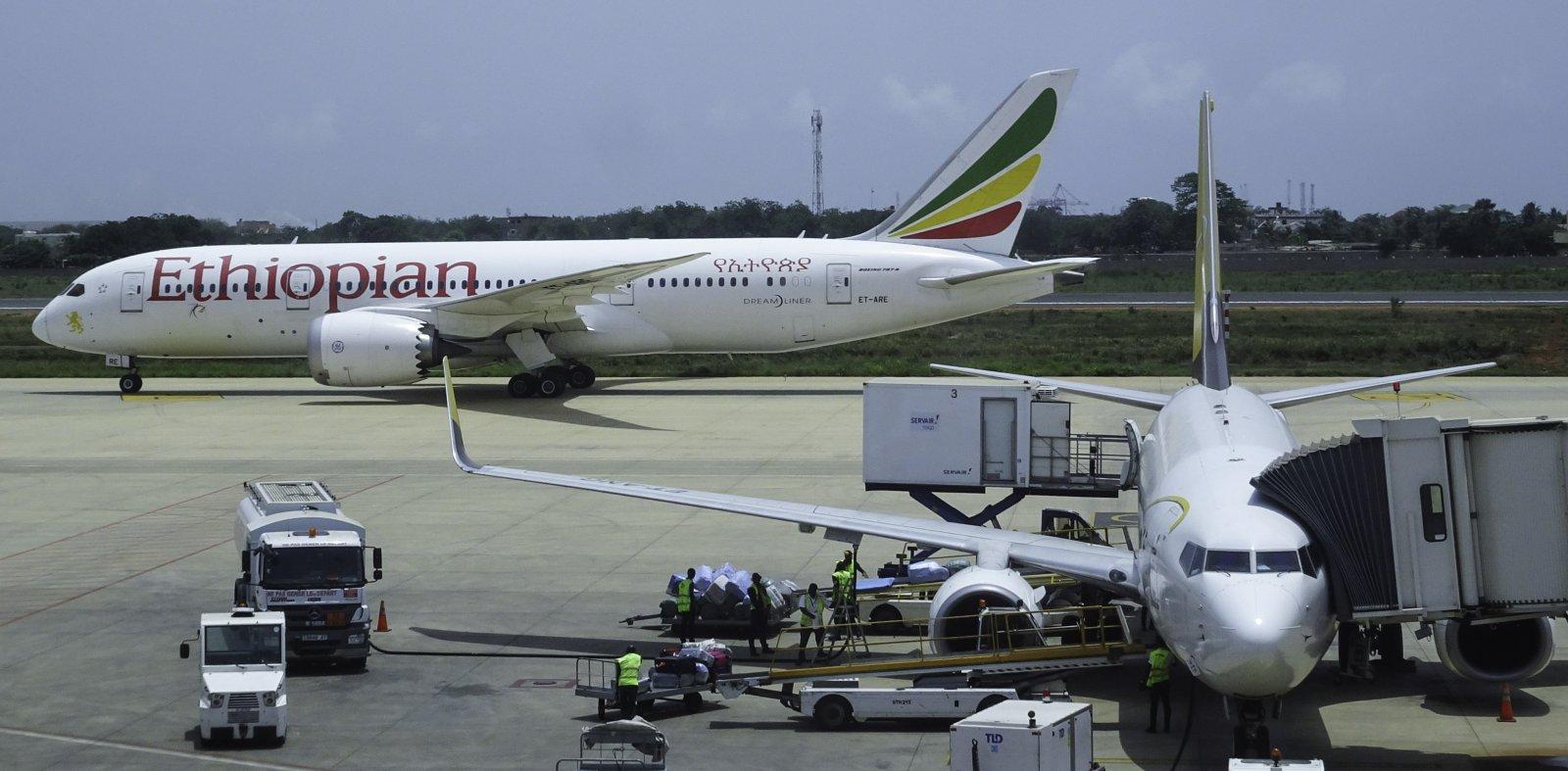 Ethiopia Airlines Boeing 787-8 ET-ARE