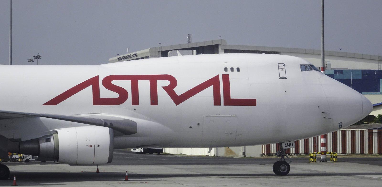 Astral Aviation Boeing 747-48EF TF-AMU
