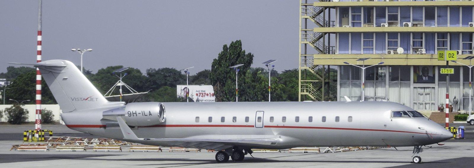 Vista Jet Canadair Regional Jet CRJ-200 9H-ILA (9H=Malta)