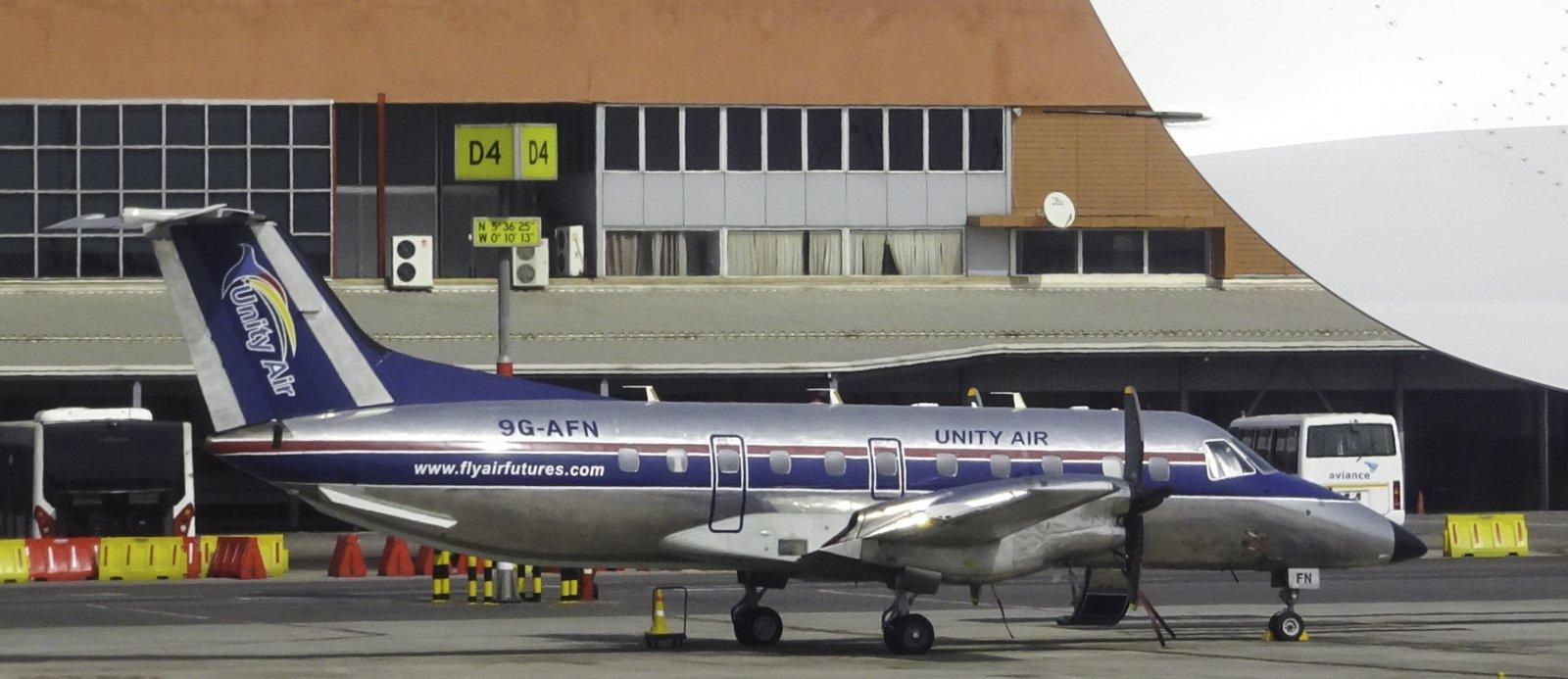 Unity Air Embraer Brasilia 120ER 9G-AFN