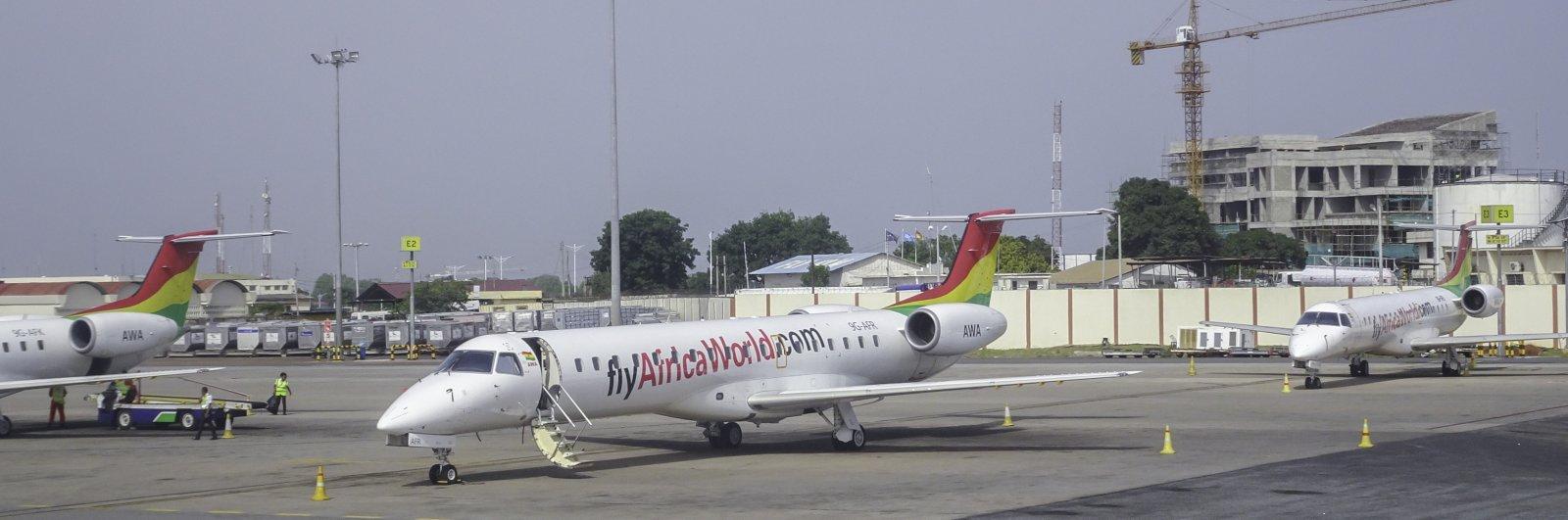 Africa World Airlines Embraer ERJ-145LI 9G-AFR