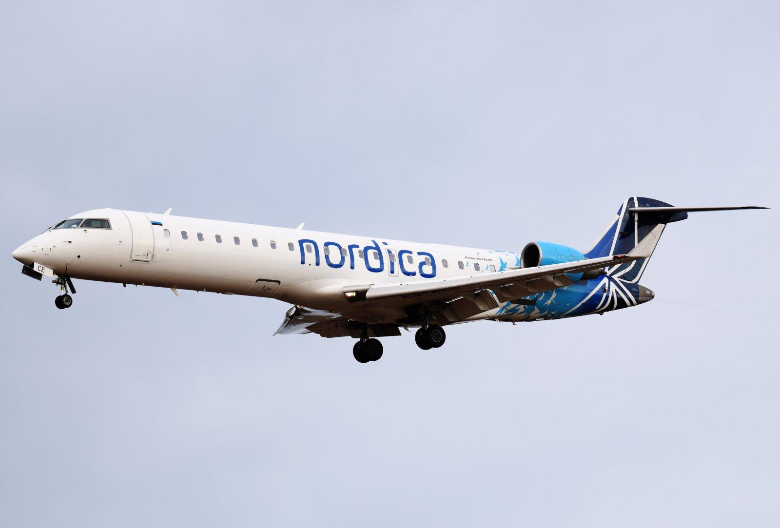 ES-ACE - Bombardier CRJ-701ER - Nordica - 7.5.2019