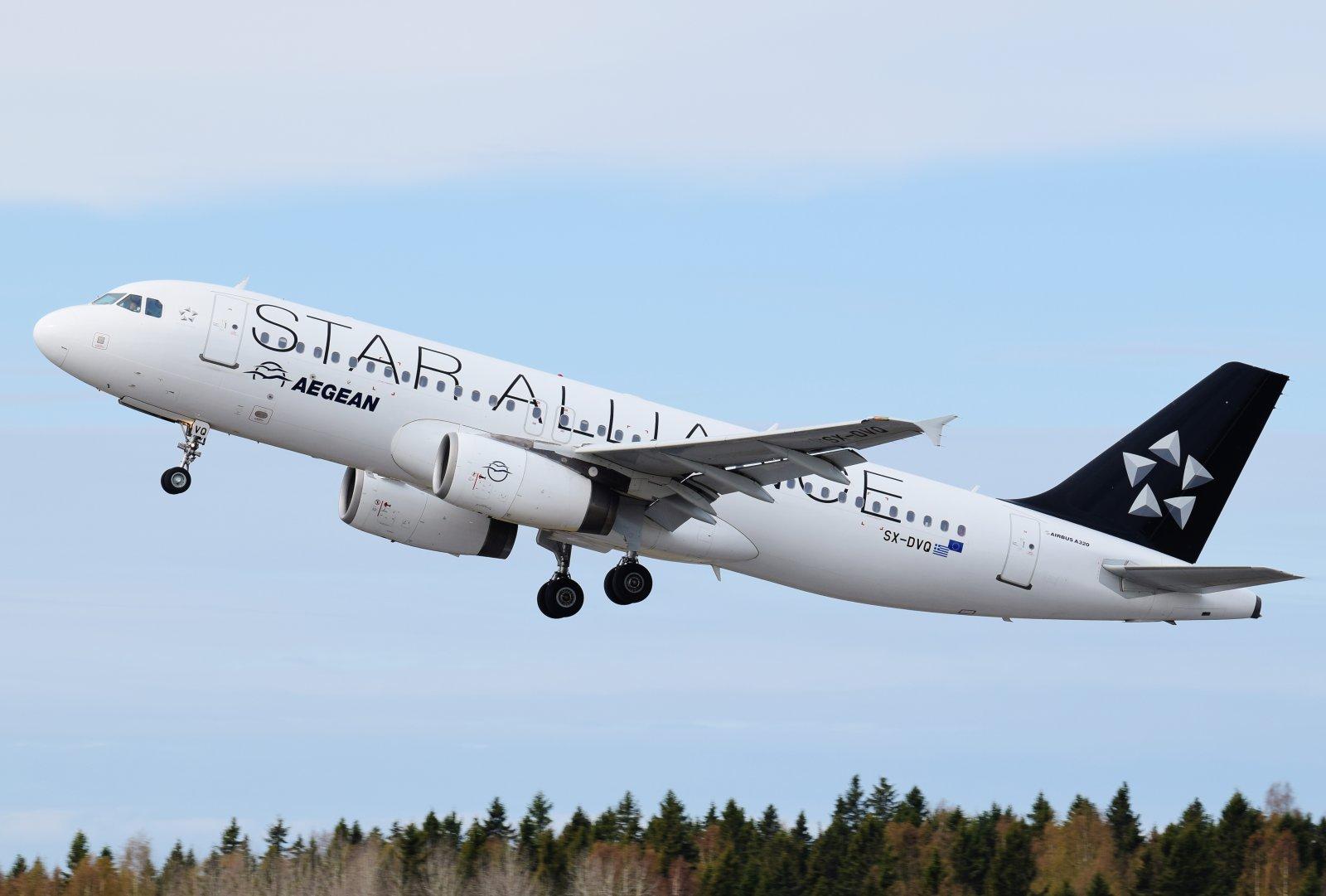 SX-DVQ - Airbus A320-232 - Aegean Airlines - 10.5.2019