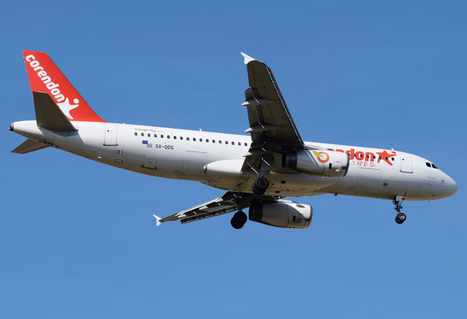 SX-ODS - Airbus A320-232 - Orange2fly (Corendon Airlines) - 11.5.2019