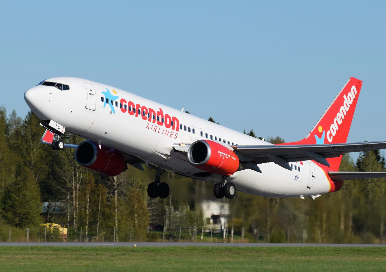 TC-TJU - Boeing 737-8HX - Corendon Airlines - 17.5.2019