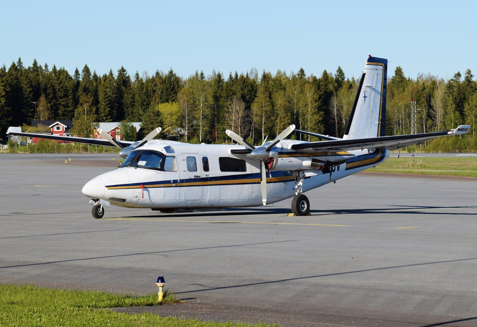SE-IUV - Rockwell 690C Commander Jetprop 840 - Wermlandsflyg - 17.5.2019