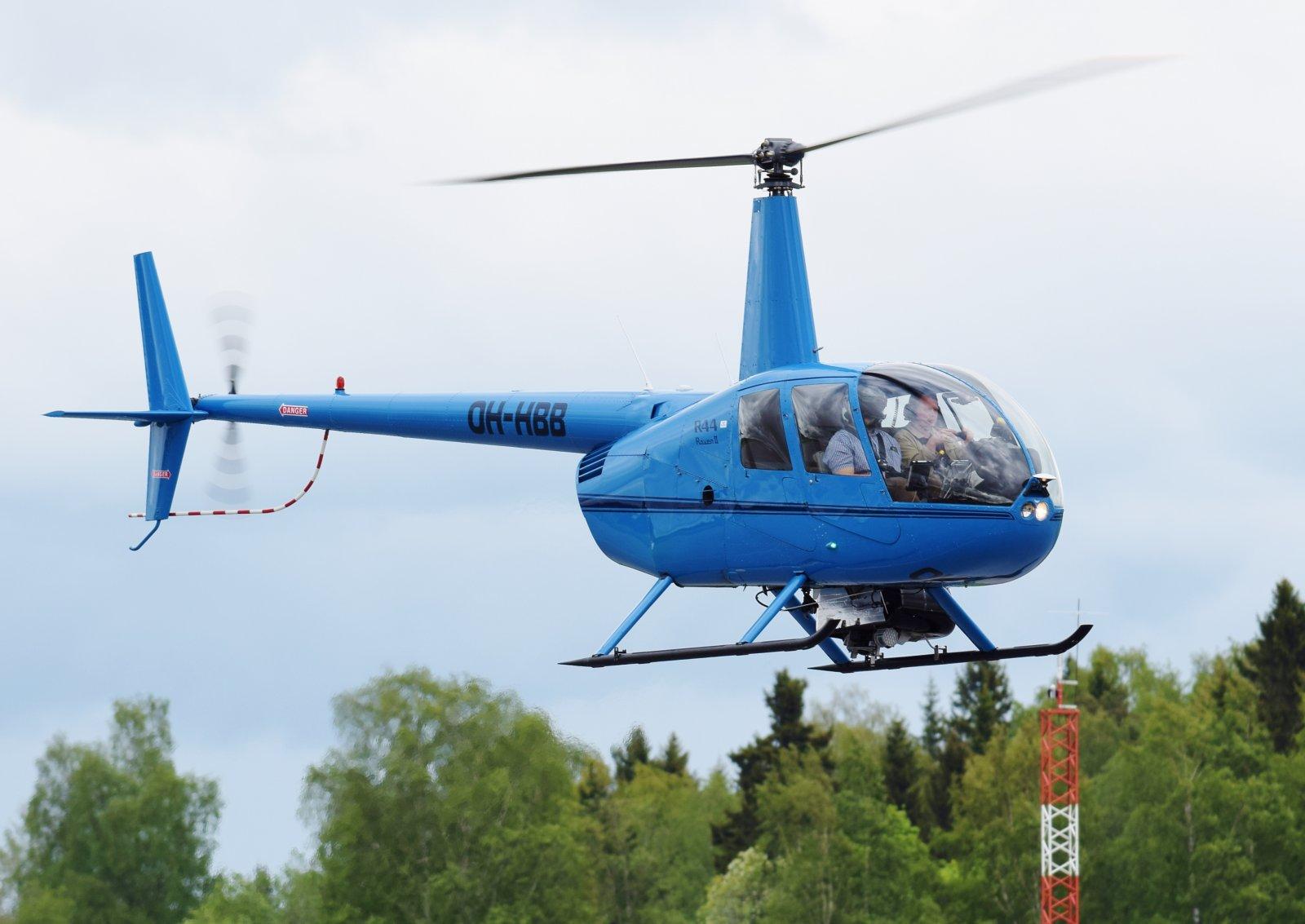 OH-HBB - Robinson R44 Raven II - Heliwest Oy - 28.5.2019