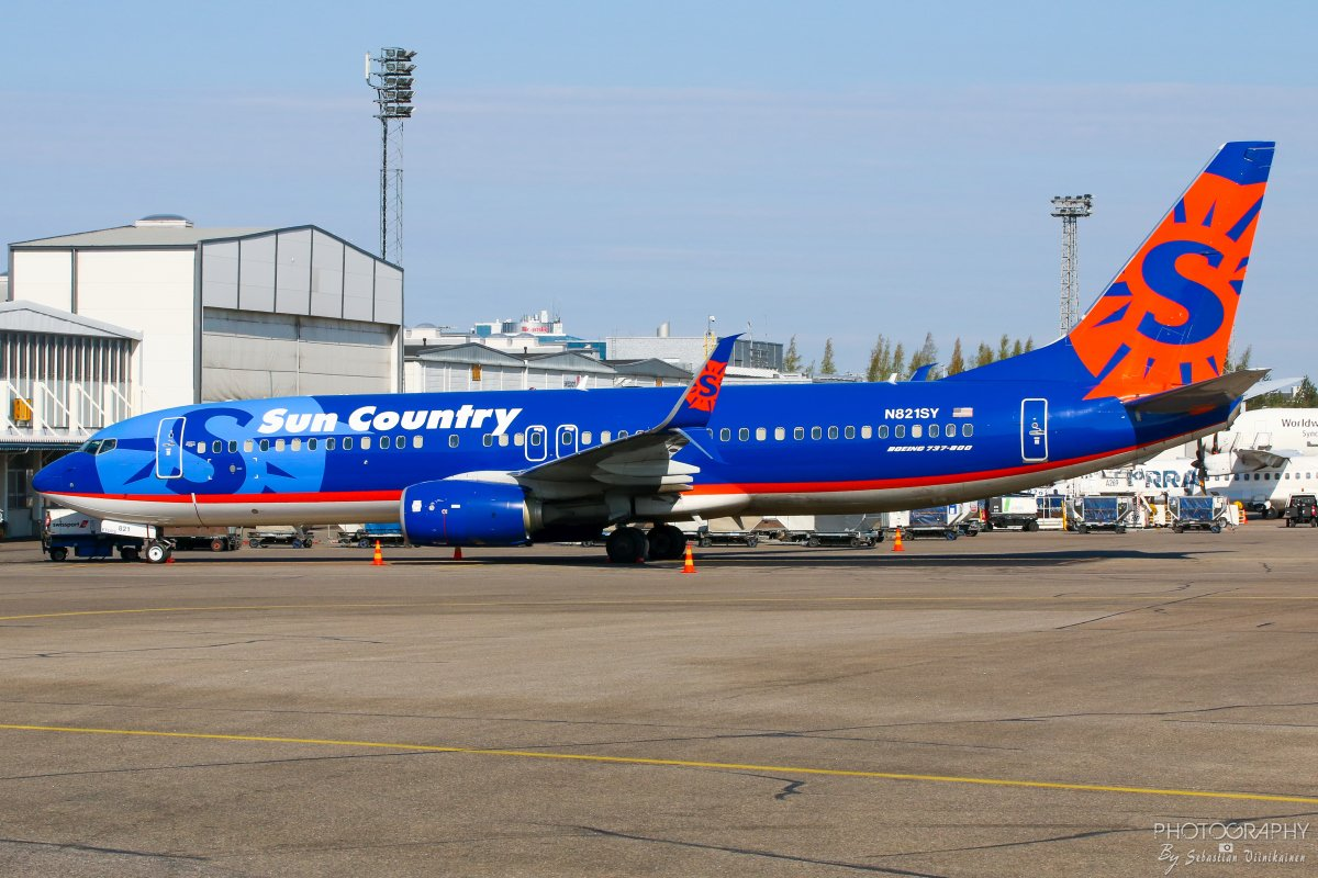 N821SY Sun Country Airlines B737-800, 01.05.2019
