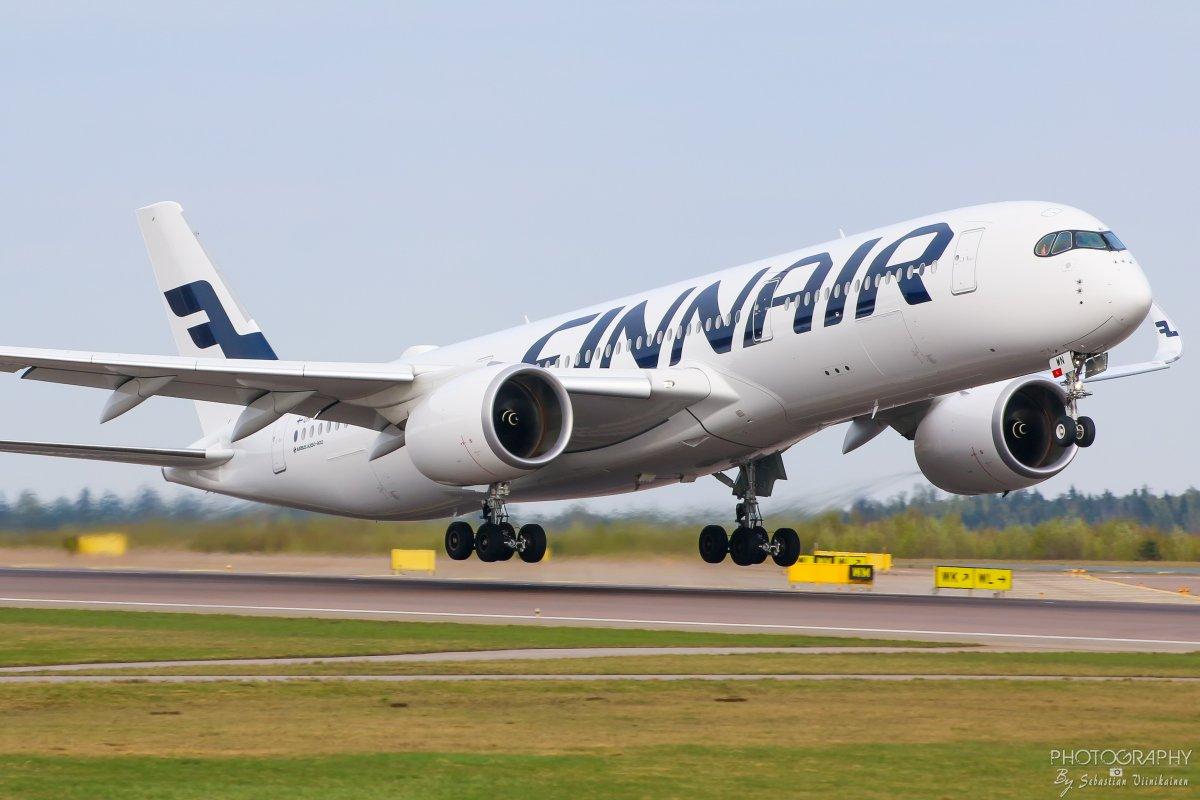 OH-LWN Finnair A350-9XWB, 01.05.2019