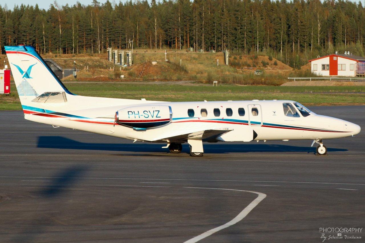 PH-SVZ Slagboom & Peeters Aerial Photography Cessna 550 Citation II, 09.05.2019