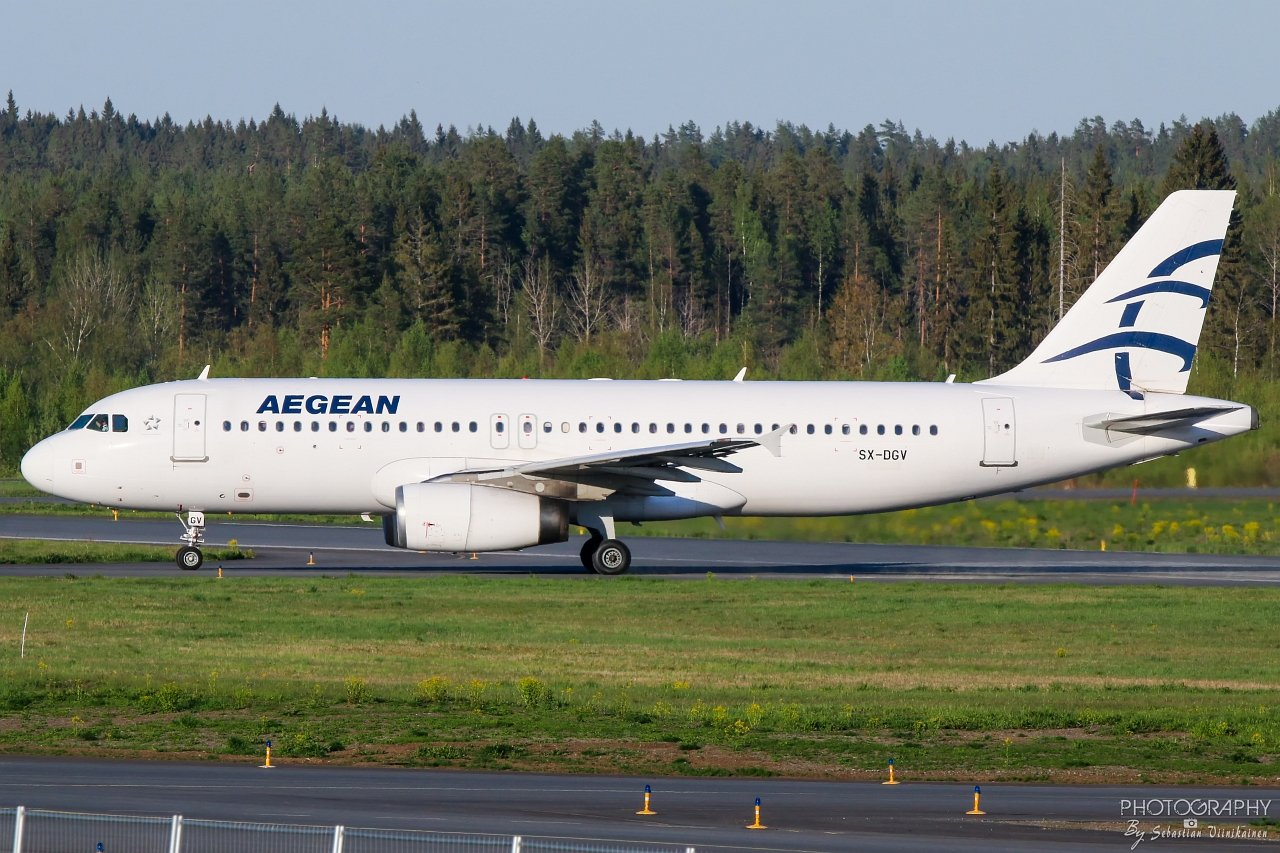 SX-DGV Aegean Airlines A320-200, 18.05.2019