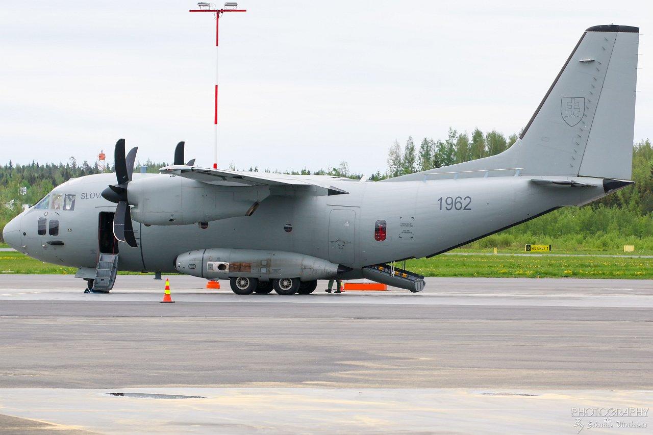1962 Slovakia Air Force Alenia C-27J Spartan, 24.05.2019